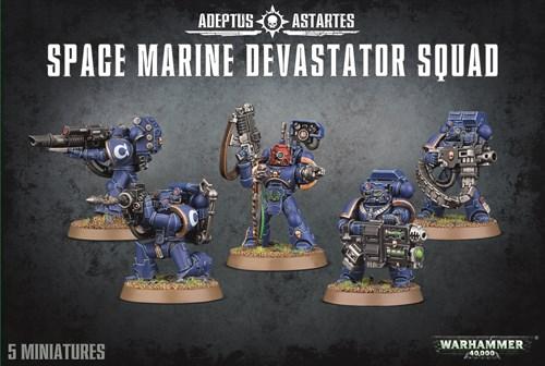 Space Marine Devastator Squad - фото 94163