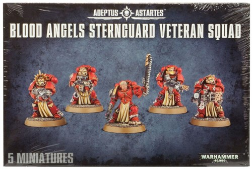 Blood Angels Sternguard Veteran Squad - фото 94196