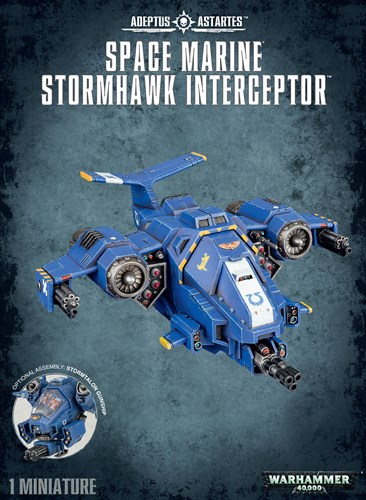 Space Marine Stormhawk Interceptor - фото 94271