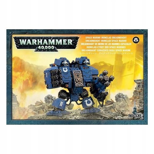 Space Marine Ironclad Dreadnought - фото 94274