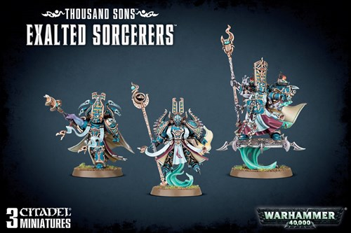 Thousand Sons Exalted Sorcerers - фото 94342