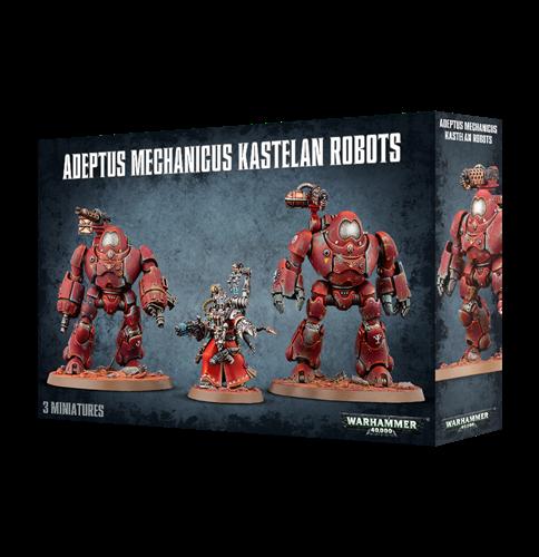 Adeptus Mechanicus Kastelan Robots - фото 94345