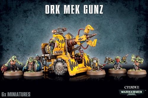 Mek Gun Warhammer 40000 - фото 94414