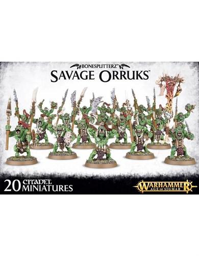 Bonesplitterz Savage Orruks - фото 94421