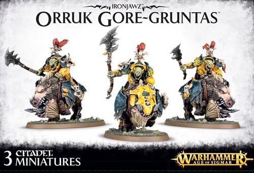 Ironjawz Orruk Gore-Gruntas - фото 94447