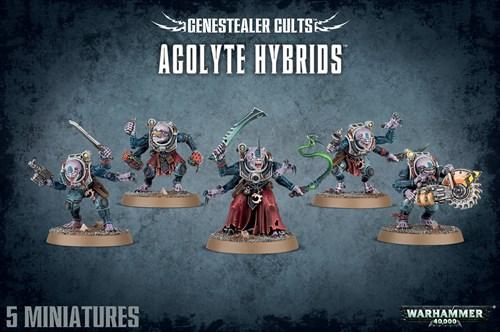Genestealer Cults Acolyte Hybrids - фото 94526