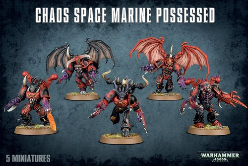 Chaos Space Marines Possessed - фото 94548