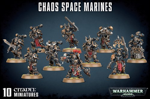 Chaos Space Marines - фото 94569