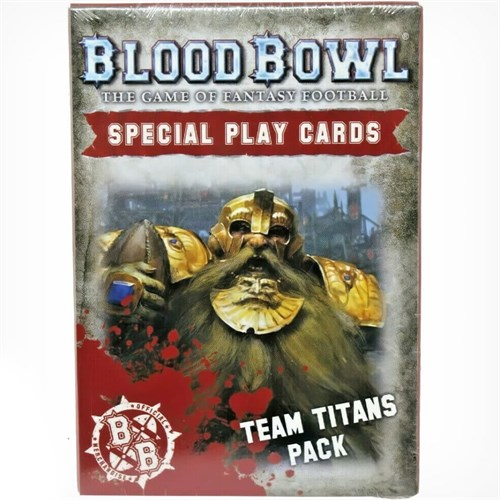 Blood Bowl Cards: Team Titans Pack (eng) - фото 94586