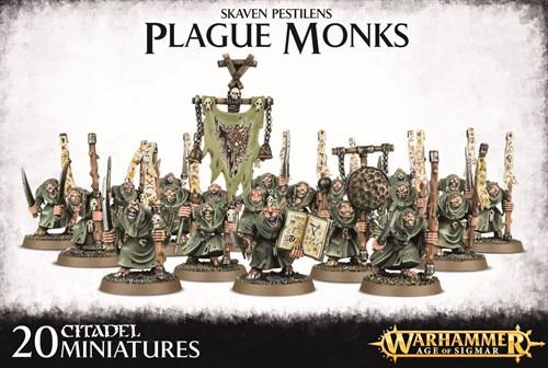 Skaven Pestilens Plague Monks - фото 94725