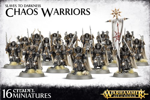 Chaos Warriors Age of Sigmar - фото 94744