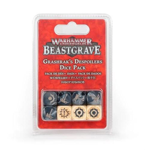 Warhammer Underworlds: Grashrak's Despoilers Dice Pack - фото 94763