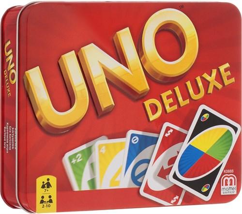Карточная игра УНО Делюкс - фото 94838