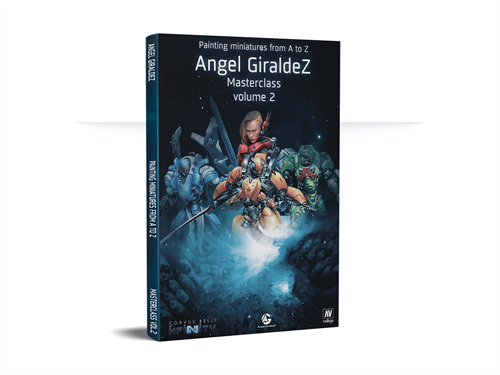 Painting Miniatures From A to Z - Angel Giraldez Masterclass Vol. 2  (Book) - фото 95413