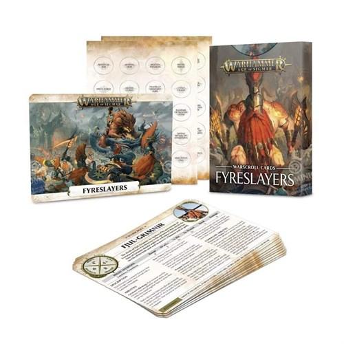 Warscroll Cards: Fyreslayers (eng) - фото 95972