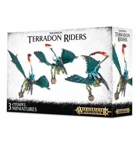 Seraphon Terradon Riders - фото 96893