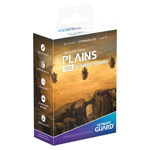 Printed Sleeves Standard Size Plains v2 - фото 98396