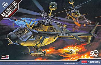 "Вертолёт  U.S. ARMY OH-58D ""BLACK DEATH""  (1:35)"