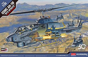 "Вертолёт  USMC AH-1W ""NTS UPDATE""  (1:35)"