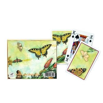 Карточный набор Тюльпаны и бабочки (2х55 листов)