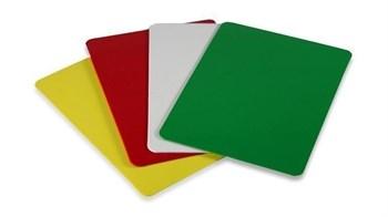 Подрезная карта для покера зеленая