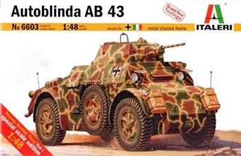 Бронетехника Бронеавтомобиль Автоблинда АВ43 (1:48)
