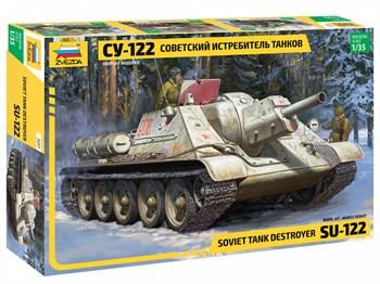 """Советский истребитель танков  """"Су-122"""""""