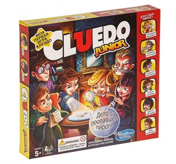 HASBRO (РУС): Клуэдо Junior