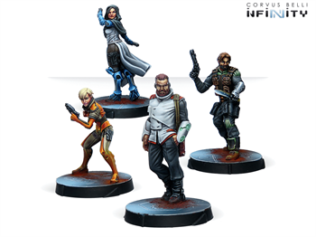 Agents of the Human Sphere. RPG Characters set (Civilians)