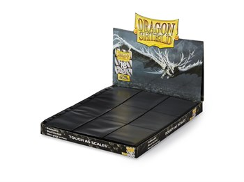 50 черных листов Dragon Shield (3х3)