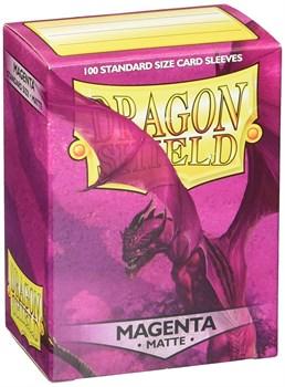 Dragon Shield - Пурпурные матовые протекторы 100 ук