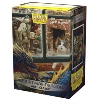 Протекторы Dragon Shield - Christmas Dragon (100 шт.)