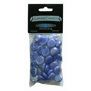 Каунтеры (30 шт.) Marble Blue
