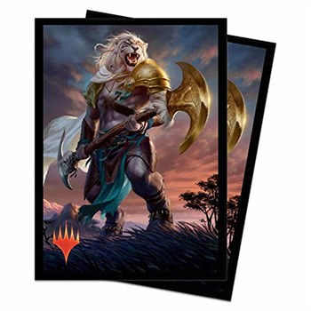 UP Sleeves MTG Series: M19 Ajani Adversary of Tyrants