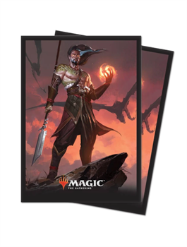 UP Sleeves MTG Series: M19 Sarkhan Fireblood