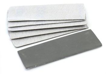 Наждачная бумага на липучке, P1500, 30x90 мм, 6 шт.