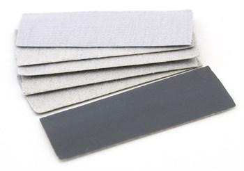 Наждачная бумага на липучке, P2500, 30x90 мм, 6 шт.