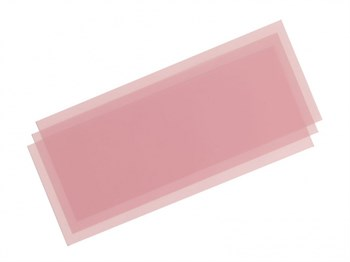 Набор шлифовальной бумаги (на основе полиэстровой пленки) (Fine Lapping Film) c зернистостью #8000 - 3шт.