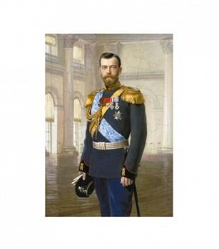 """Пазл (плоский на подложке)  """"Портрет императора Николая II. Эрнест Липгарт."""""""