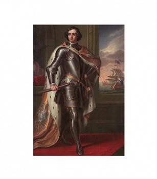 """Пазл (плоский на подложке)  """"Портрет императора Петра I. Генри Пирс Бон."""""""