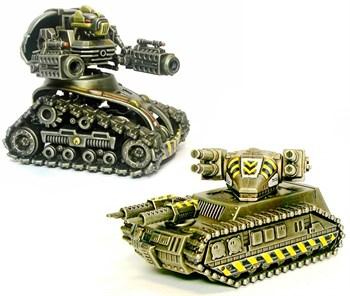"""Технолог: """"Кибертанк"""" + зенитный танк МСТ-2"""