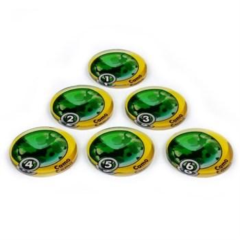 Маркер камуфляжа 1-6 / Camo-1,2,3,4,5,6 (6 шт.)