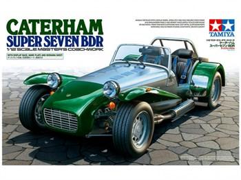 1/12 Caterham Super Seven BDR, с подставкой и булыжной мостовой для диорамы. Очень давно не выпускалась!!!