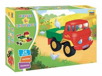 Игрушка-конструктор. Детский грузовичок.
