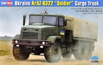 "Сборная модель Ukraine K-6322 ""Soldier"" Cargo Truck  (1:35) Hobby Boss"