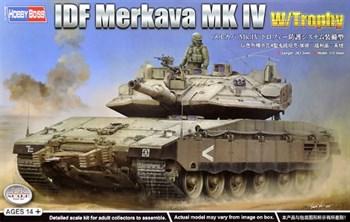 Сборная модель Idf Merkava Mk Iv W/Trophy  (1:35) Hobby Boss