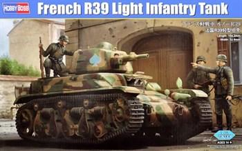 Сборная модель French R39 Light Infantry Tank  (1:35) Hobby Boss