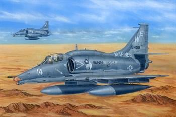 Сборная модель A-4m Sky Hawk  (1:48) Hobby Boss