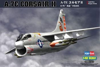 Сборная модель A-7e Corsair Ii (1:48) Hobby Boss
