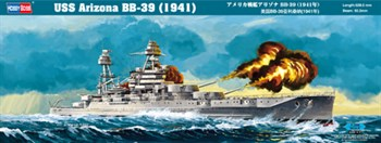Сборная модель Uss Arizona Bb-39 (1941)  (1:350) Hobby Boss